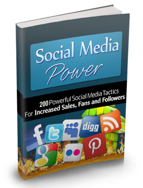 Product picture Social Media Power - 200 Powerful Social Media Tactics
